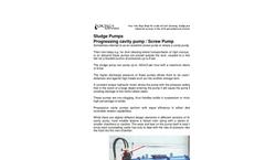 Progressing Cavity Pump - Screw Pump - Brochure