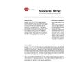 SupraFlo - Model MFVC PVC & CPVC - Corrosive Resistant Flow Meters Brochure