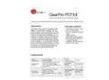 GearFlo - Model PDTX4 - Four-Wire Meter Mounted Flow Transmitter Brochure