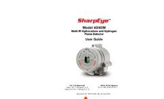 SharpEye - Model 40/40M Multi IR - Flame Detector - Operating Manual