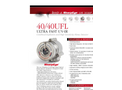 SharpEye - Model 40/40UFL Ultra Fast UV/IR - High-Speed Optical Flame Detector- Brochure