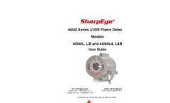 SharpEye - Model 40/40L4-L4B UV/IR - Flame Detector- Manual