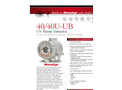 SharpEye - Model 40/40U-UB - UV - Flame Detector - Brochure