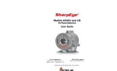 SharpEye - 40/40U-UB - UV Flame Detector - Manual