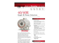 SharpEye - Model 40/40R - Single IR - Flame Detector - Brochure