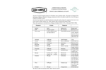 Ash Grove - Foreman and Chanute Solids Datasheet