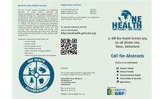 3rd GRF One Health Summit 2014 Brochure