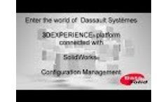Manage SolidWorks Configuration with 3D Experience Platform Video