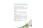 ArcGIS Online Map Services Brochure