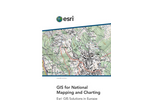 GIS for National Mapping and Charting Brochure