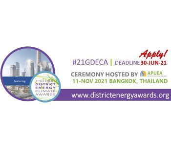 2021 Global District Energy Climate Awards - Applications are open!