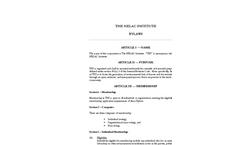 The NELAC Institute (TNI)- Brochure