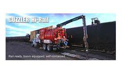 Guzzler - Hi-Rail for Industrial Vacuum