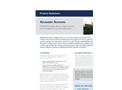 Acoustic Screens - Brochure