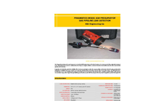 ProSurveyor - Model 634 - Gas Pipeline Leak Detector– Brochure
