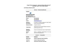 Oxygen Release Compound (ORC) for Enhanced Aerobic Biodegradation SDS