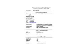 HRC PRIMER - Hydrogen Release Compound MSDS