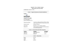 RegenOx MSDS (Part A)