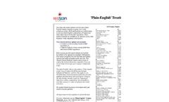 Plain English Treatise Material Brochure