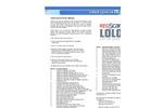 RegScan Lolo - Online Regulated Chemical List Software Brochure