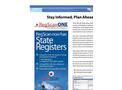 RegScan State Registers Brochure