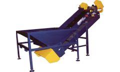 REM - Model TCH Series - Transfer Conveyor with Receving Hopper
