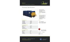 One Stop - Model BM32 - Portable Waste Compactor Brochure