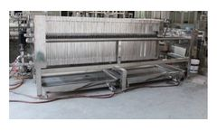 Model FPSA & FPA - Sanitary Filter Press