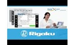 Rigaku NEX QC SERIES of Benchtop EDXRF Analyzers - Video