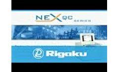 Rigaku NEX QC Series (Japanese) - Video