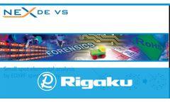Rigaku NEX DE VS EDXRF Spectrometer - Video