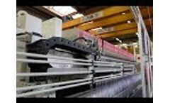 MSE Fully Automatic Filter Press - Cake Discharge Video