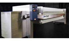 MSE Filterpressen - Stainless Steel Filter Press