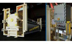 Installation of a Greyline MantaRay Portable Area-Velocity Flow Meter Video