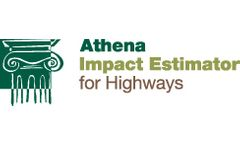 Athena - Impact Estimator (IE) for Highways