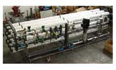 Model BWP 53000 - Brackish Water Desalination Units