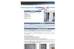 ALPHAfon-AD - Acoustic Doors - Brochure