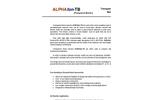 ALPHAfon-TB Brochure
