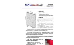ALPHAcoustic-AM Brochure