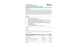 Contego - Model RFB - Original Formula Reactive Fire Barrier Intumescent Brochure