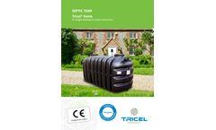 Tricel Vento - Septic Tank - Brochure