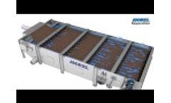 Andritz Separation - PowerDrain Gravity Belt Thickener - Video