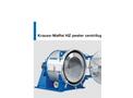 Krauss-Maffei - Model HZ - Horizontal Peeler Centrifuge - Brochure