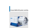 Krauss-Maffei - Model SZ - Pusher Centrifuge - Brochure