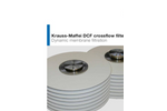 Krauss-Maffei - Model - DCF - Dynamic Crossflow Filter - Brochure