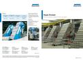 Aqua-Screen - Water Treatment Equipment, Perforated Plate Fine Screen - Brochure