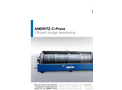 ANDRITZ - C-Press - Efficient Sludge Dewatering Brochure