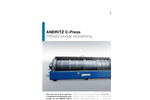 ANDRITZ - C-Press - Efficient Sludge Dewatering Brochure