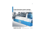 ANDRITZ - D-Type - Large Decanter Power Savings Brochure