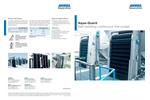 Aqua-Guard - Self-Washing Continuous Fine Screen - Brochure